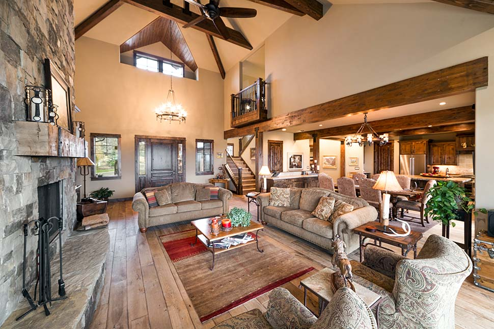 Country, Craftsman House Plan 43301 with 3 Beds, 5 Baths, 3 Car Garage Picture 9