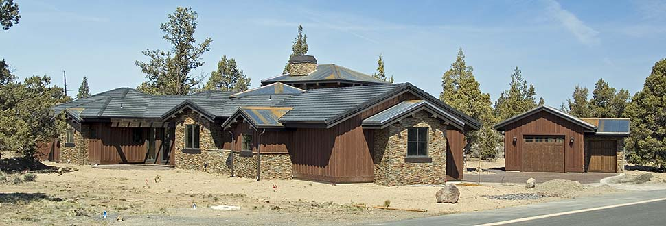 Tuscan House Plan 43308 with 3 Beds, 4 Baths, 3 Car Garage Picture 2