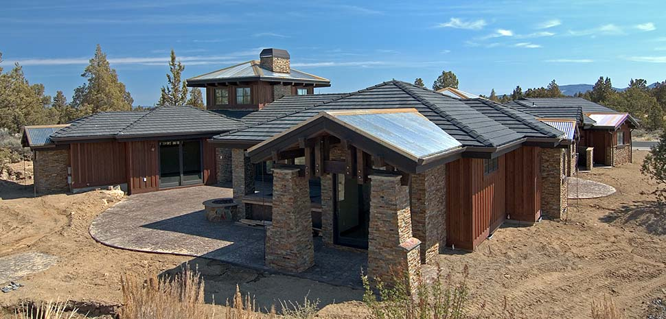 Tuscan House Plan 43308 with 3 Beds, 4 Baths, 3 Car Garage Picture 3