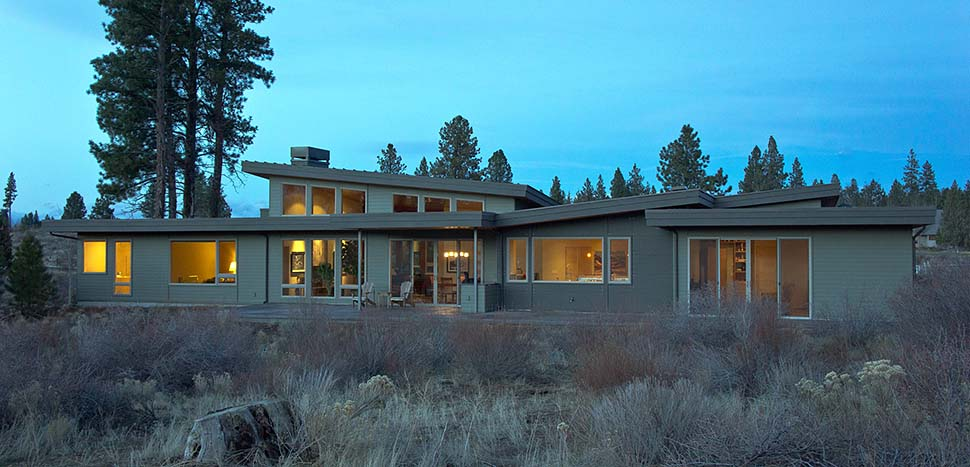 Contemporary, Modern House Plan 43314 with 3 Beds, 4 Baths, 2 Car Garage Picture 3