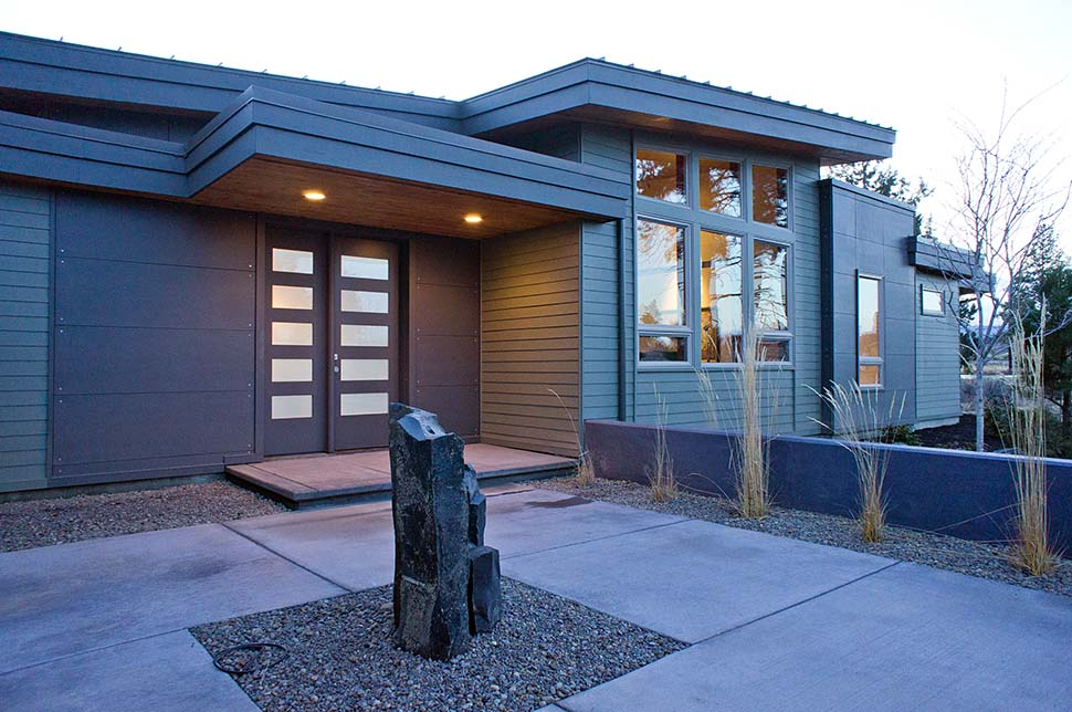 Contemporary, Modern House Plan 43314 with 3 Beds, 4 Baths, 2 Car Garage Picture 4