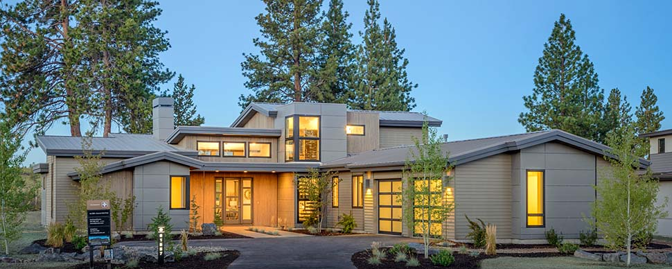 Contemporary, Modern House Plan 43315 with 5 Beds, 4 Baths, 2 Car Garage Picture 1