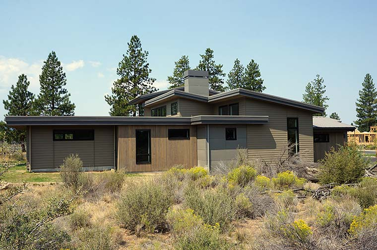 Contemporary, Modern House Plan 43315 with 5 Beds, 4 Baths, 2 Car Garage Picture 5