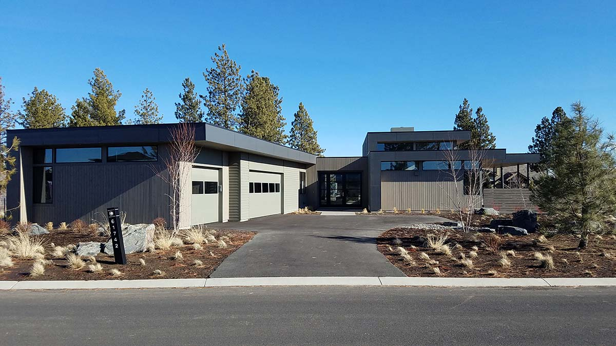 Modern House Plan 43330 with 3 Beds, 4 Baths, 3 Car Garage Picture 1