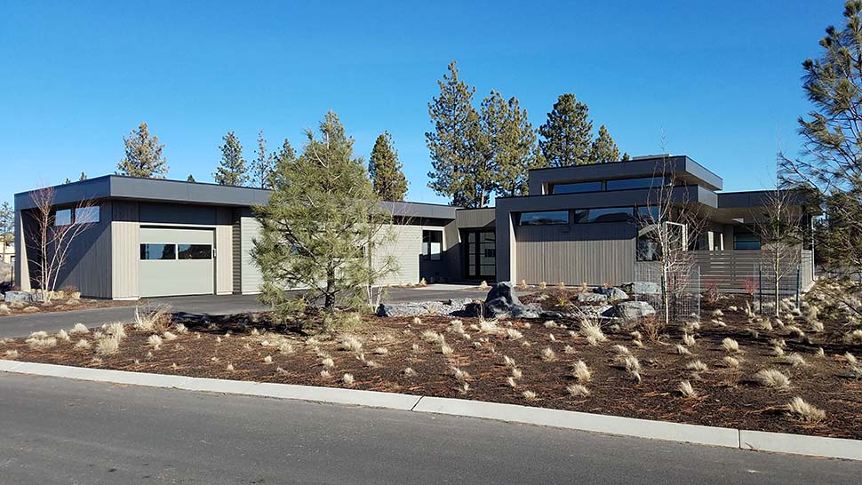 Modern House Plan 43330 with 3 Beds, 4 Baths, 3 Car Garage Picture 2