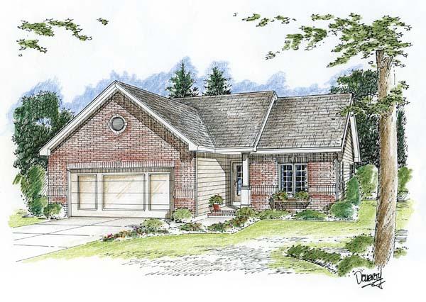 House Plan 44007