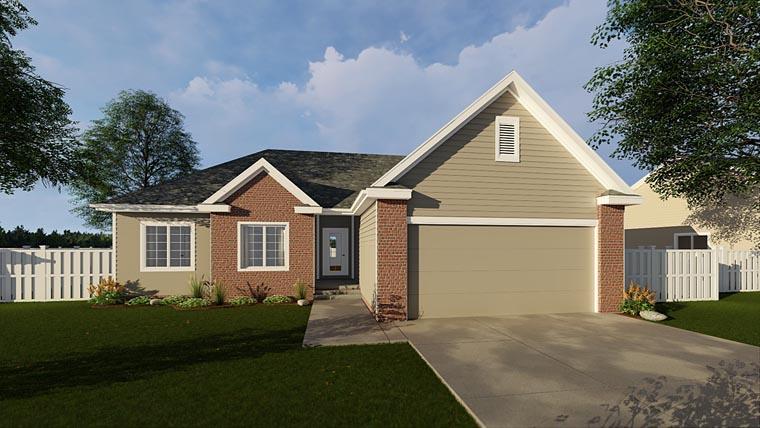 House Plan 44077