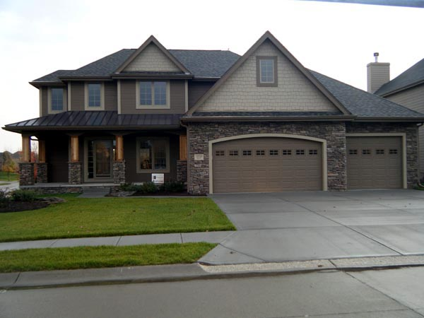 Country House Plan 44125 with 4 Beds, 3 Baths, 3 Car Garage Picture 1