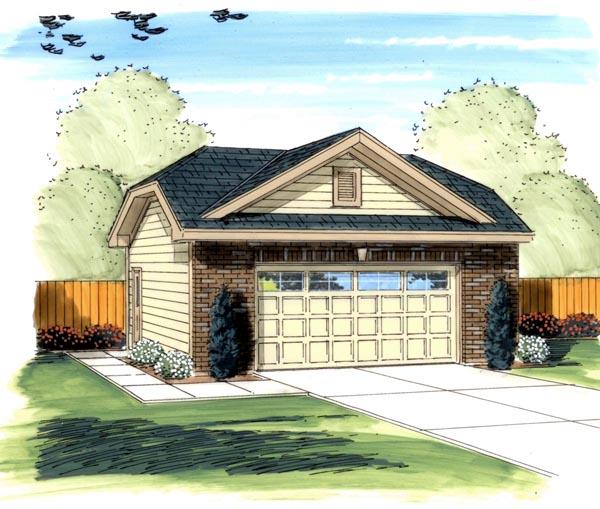 Garage Plan 44129