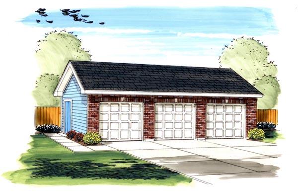Garage Plan 44130
