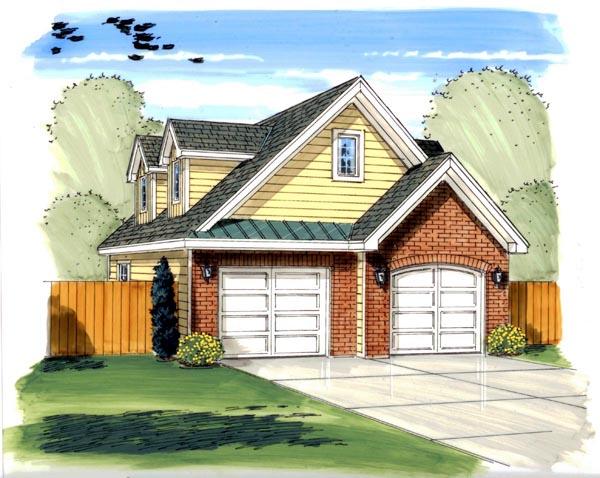 Garage Plan 44131