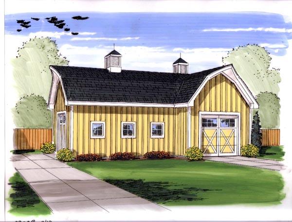 Garage Plan 44144