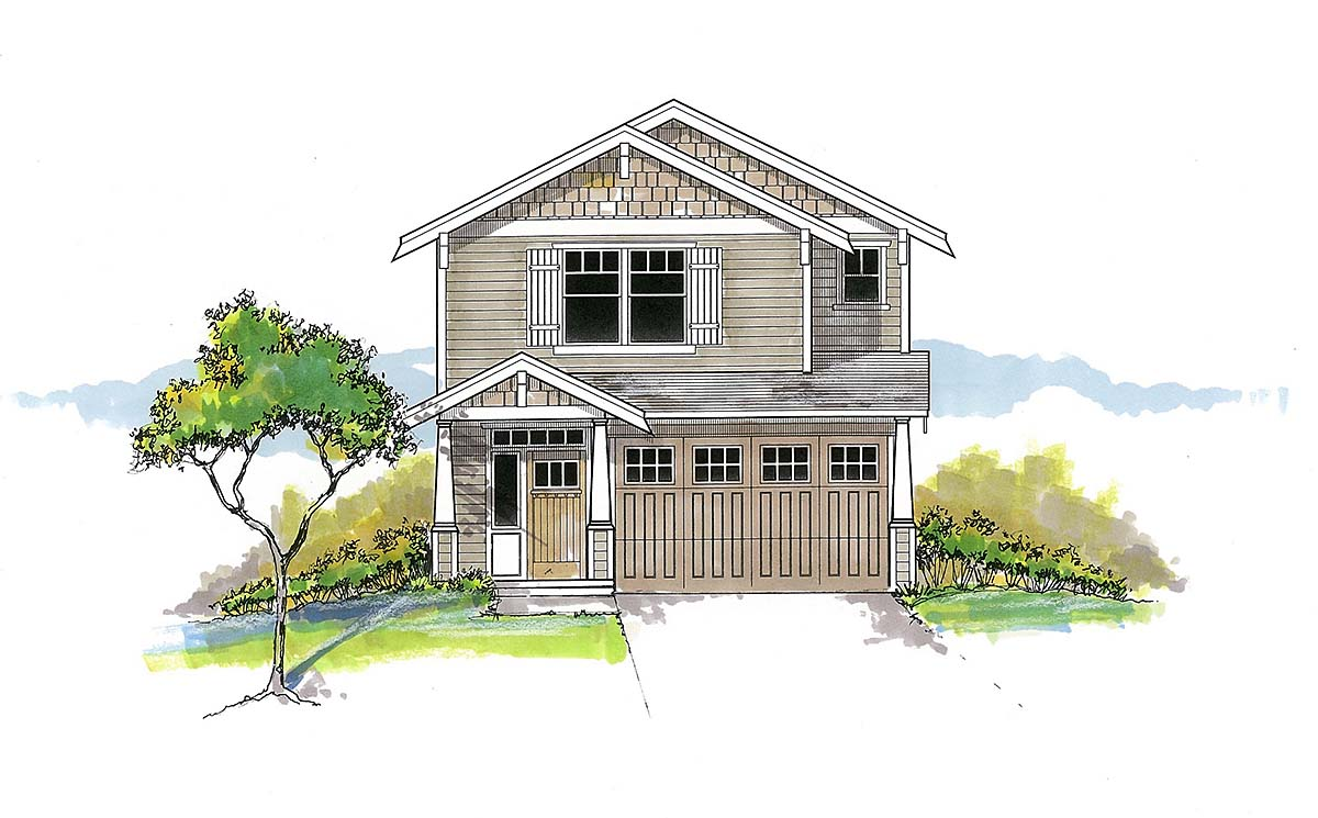 House Plan 44403