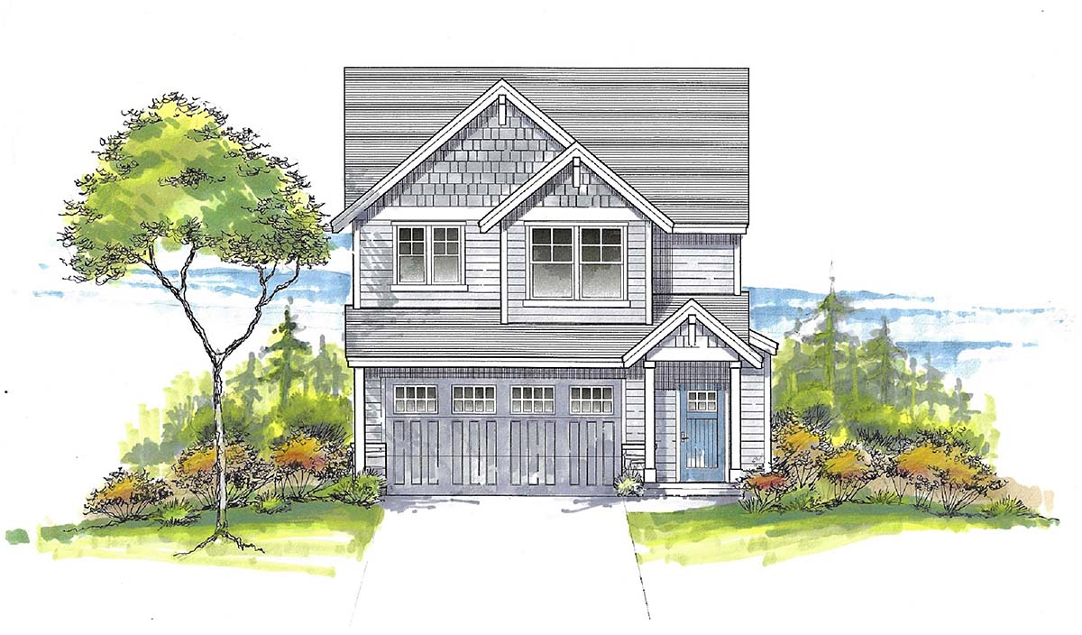 House Plan 44411