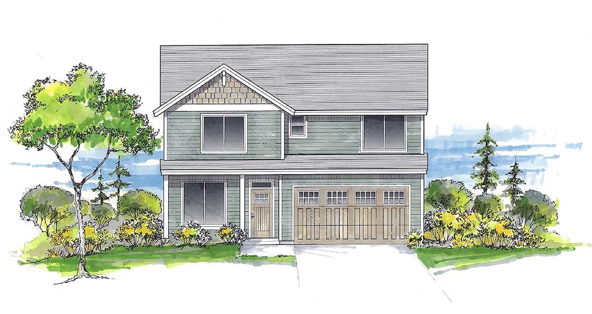 House Plan 44413