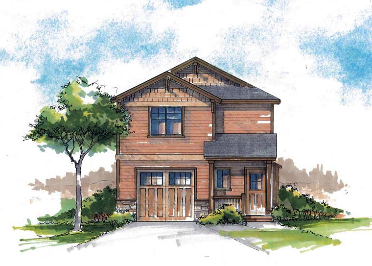 Country, Craftsman, Farmhouse, Southern, Traditional House Plan 44685 with 3 Beds, 3 Baths, 1 Car Garage Front Elevation