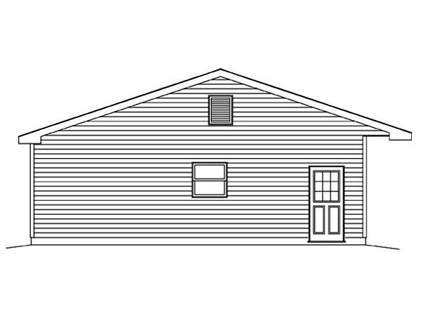 3 Car Garage Plan 45115 Picture 1