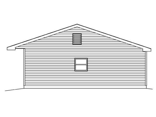 3 Car Garage Plan 45115 Picture 2