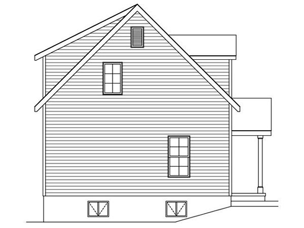 2 Car Garage Apartment Plan 45122 with 2 Beds, 2 Baths Picture 1