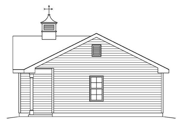 2 Car Garage Plan 45123 Picture 2