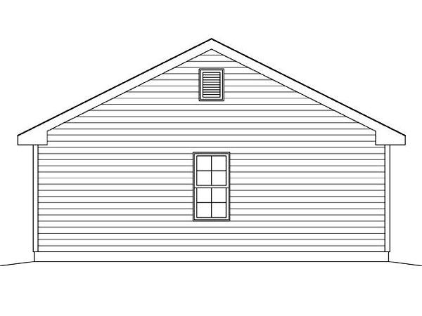 2 Car Garage Plan 45124 Picture 1