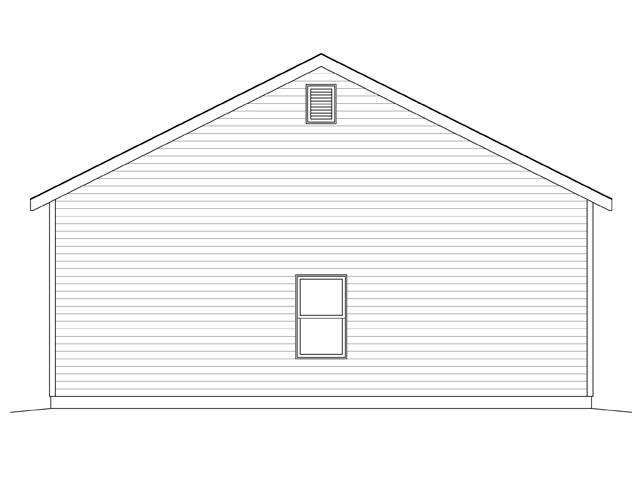 2 Car Garage Plan 45129 Picture 1