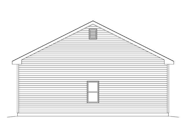 2 Car Garage Plan 45142 Picture 1