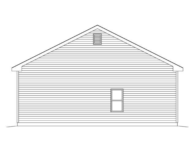 2 Car Garage Plan 45142 Picture 2