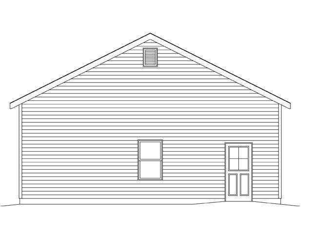 3 Car Garage Plan 45146 Picture 1