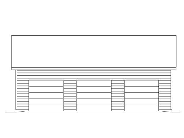 3 Car Garage Plan 45146 Picture 3