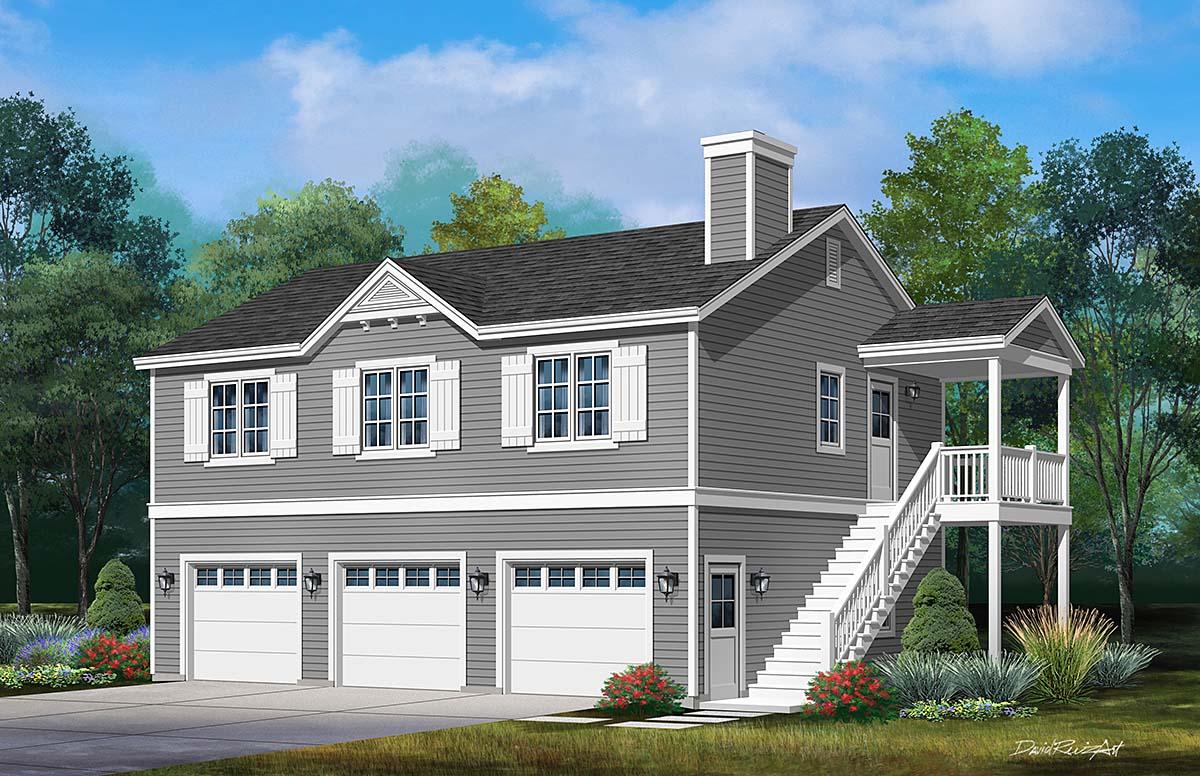 Garage Plan 45192