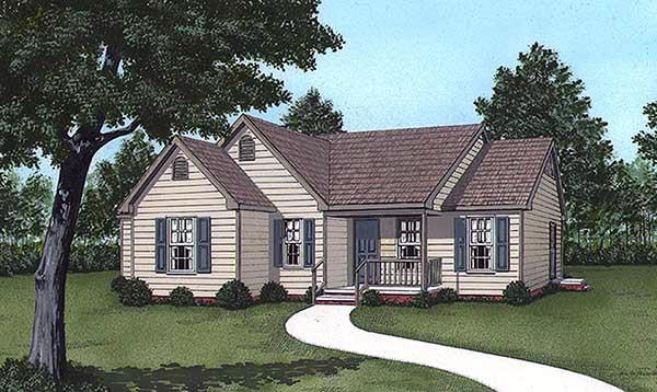 House Plan 45300
