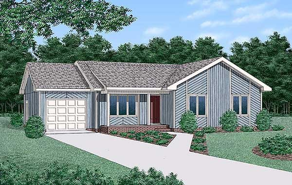 House Plan 45307