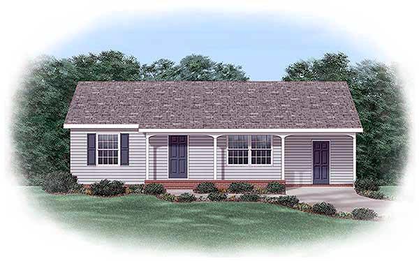 House Plan 45393