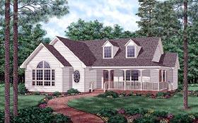 Plan Number 45509 - 1445 Square Feet