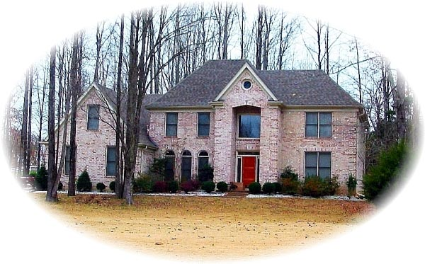 European House Plan 46752 with 4 Beds, 4 Baths, 3 Car Garage Elevation
