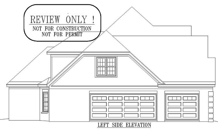 Victorian House Plan 47010 with 4 Beds, 4 Baths, 3 Car Garage Picture 1