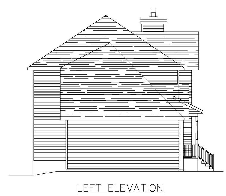 Southern House Plan 48287 with 3 Beds, 3 Baths, 1 Car Garage Picture 1