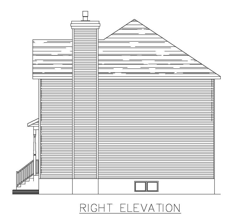 Southern House Plan 48287 with 3 Beds, 3 Baths, 1 Car Garage Picture 2