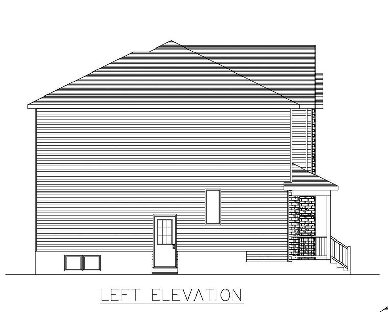 Multi-Family Plan 48297 with 6 Beds, 4 Baths Picture 1