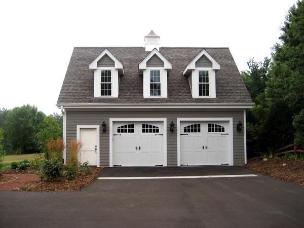 Farmhouse 2 Car Garage Plan 49024 Picture 2