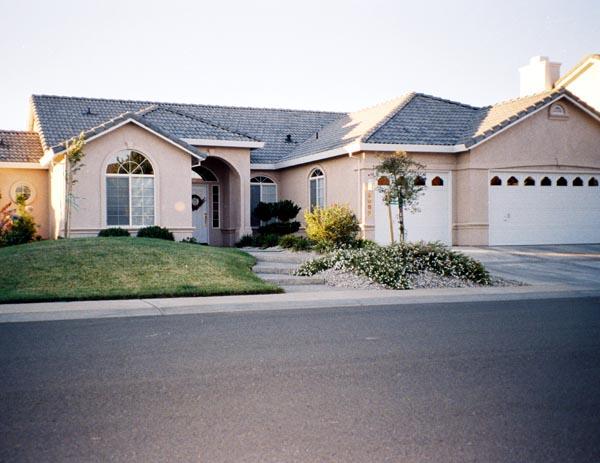 Mediterranean House Plan 50213 with 3 Beds, 2 Baths, 3 Car Garage Elevation