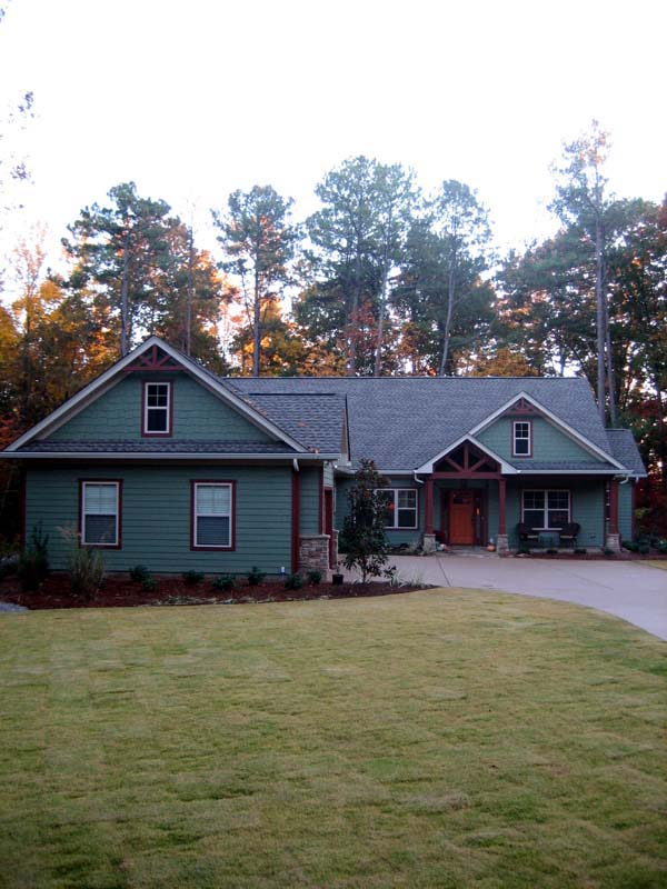 Craftsman House Plan 50223 with 3 Beds, 3 Baths, 3 Car Garage Picture 12