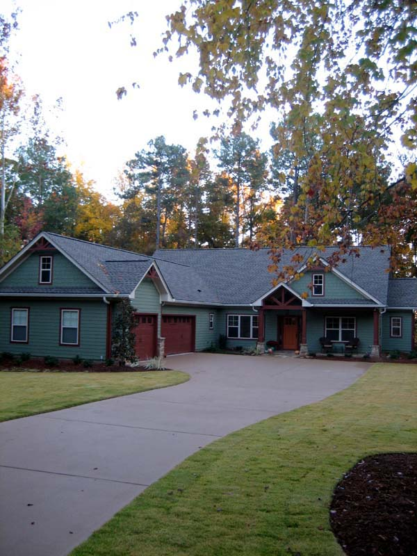 Craftsman House Plan 50223 with 3 Beds, 3 Baths, 3 Car Garage Picture 1