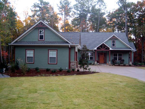 Craftsman House Plan 50223 with 3 Beds, 3 Baths, 3 Car Garage Picture 11