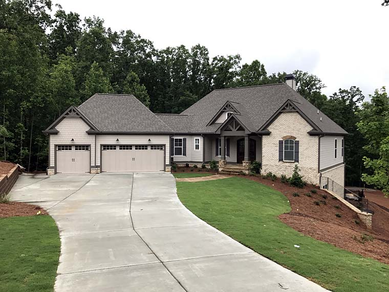 Cottage, Country, Craftsman, Traditional House Plan 50268 with 4 Beds, 4 Baths, 3 Car Garage Picture 1