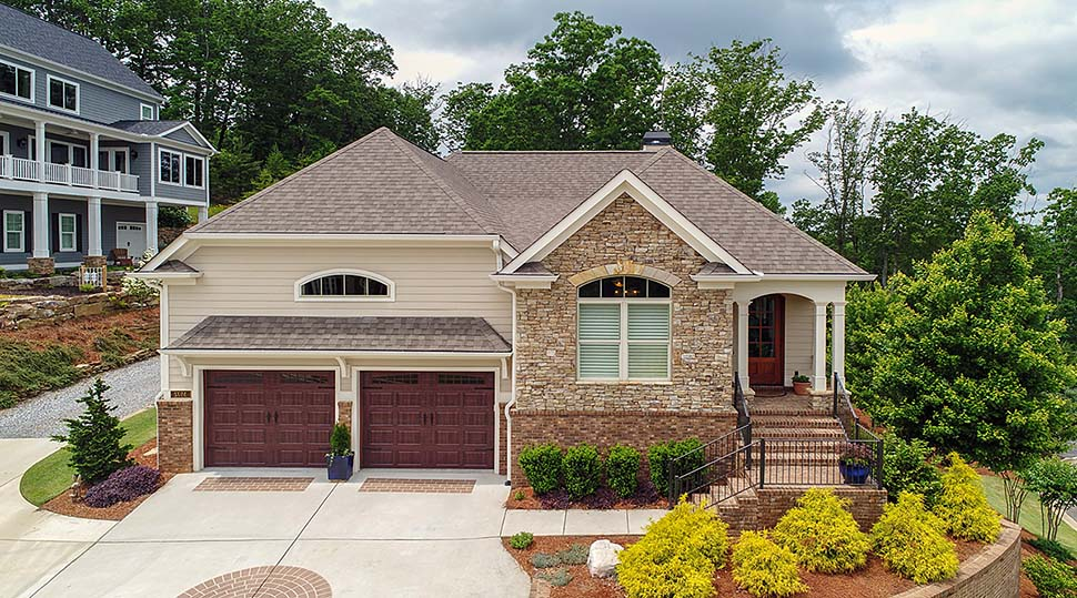 Traditional House Plan 50279 with 3 Beds, 4 Baths, 2 Car Garage Picture 2