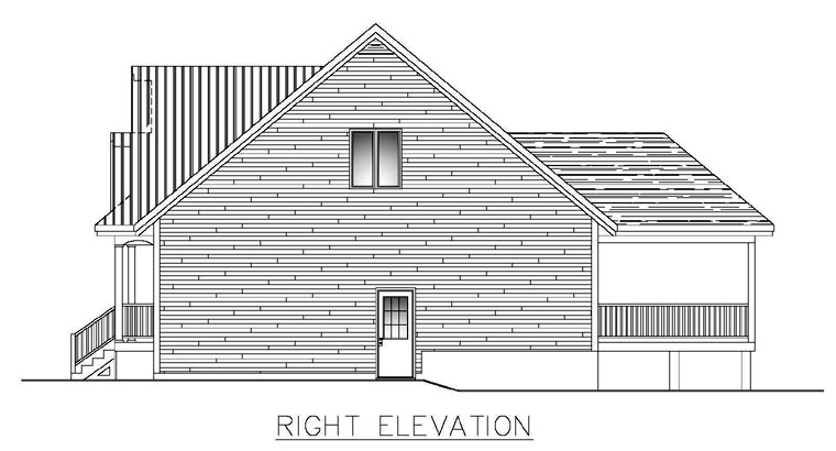 House Plan 50303 with 3 Beds, 3 Baths, 1 Car Garage Picture 2