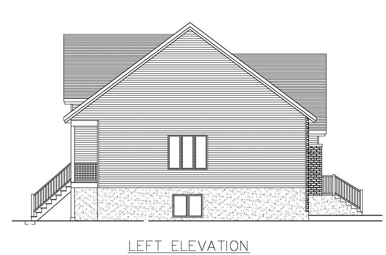 House Plan 50308 with 4 Beds, 2 Baths Picture 1