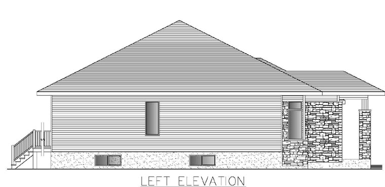 Contemporary Multi-Family Plan 50321 with 4 Beds, 2 Baths, 2 Car Garage Picture 1